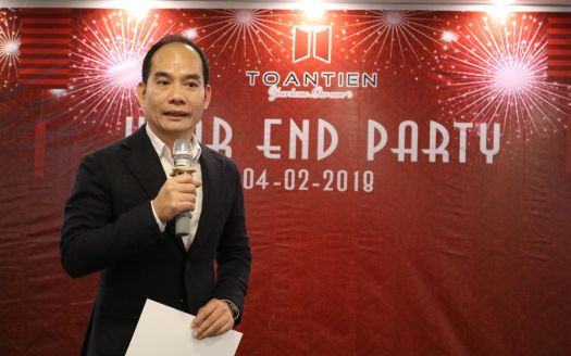 Toan Tien Housing celebrated a year end party 2017 for entire company staffs