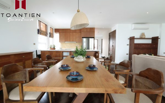 Visit the most desirable model four-bedroom apartment in Tay Ho area