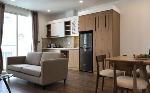 Japanese-styled apartment for rent in Ba Dinh district: where minimalistism rises