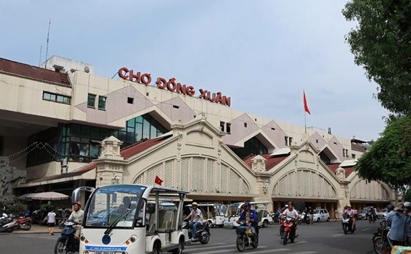 Chợ Đồng Xuân – Nơi lưu giữ giá trị văn hóa của Hà Nội