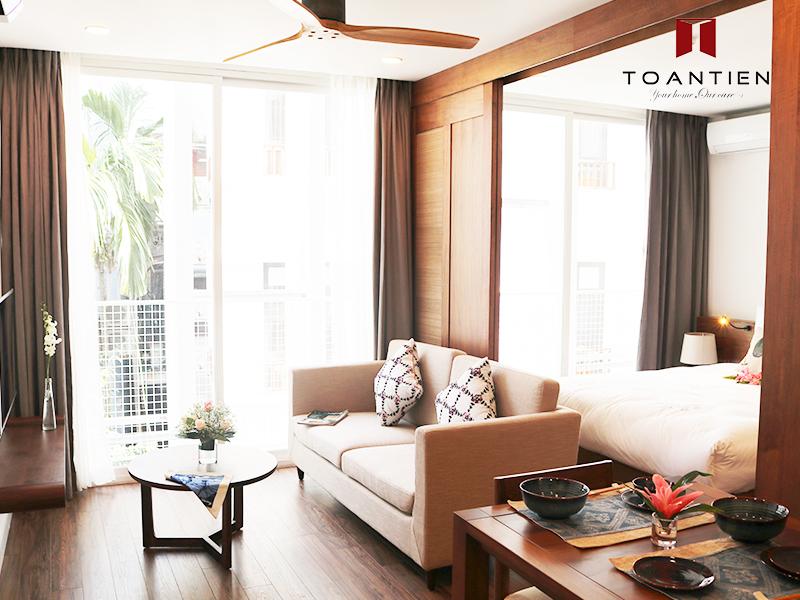 Sự tiện nghi trong các căn hộ dịch vụ của Toan Tien Housing