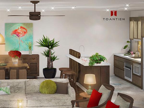 Khám phá vẻ đẹp tinh tế, hiện đại của Toà nhà Tropical House số 11 phố Tôn Thất Thiệp