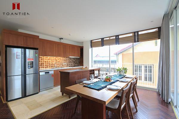 Sống thoải mái, an tâm hơn trong mùa dịch với gian bếp ấm cúng, tiện nghi của Toan Tien Housing