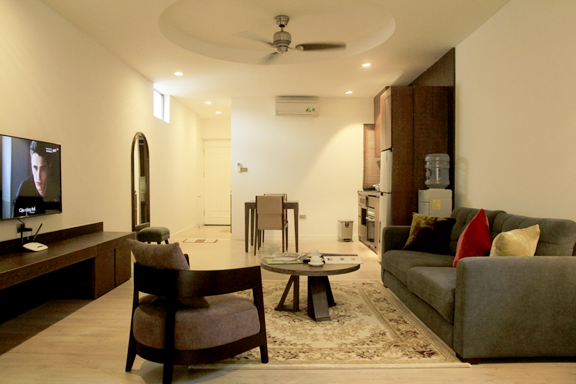 căn hộ 1 phòng ngủ tiện nghi tại Hà Nội