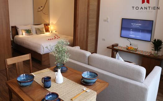 The opportunity to experience serviced apartment with affordable price in a pandemic Covid-19