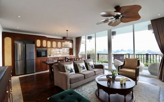 Experience the most livable apartment in Hanoi with a view of West Lake